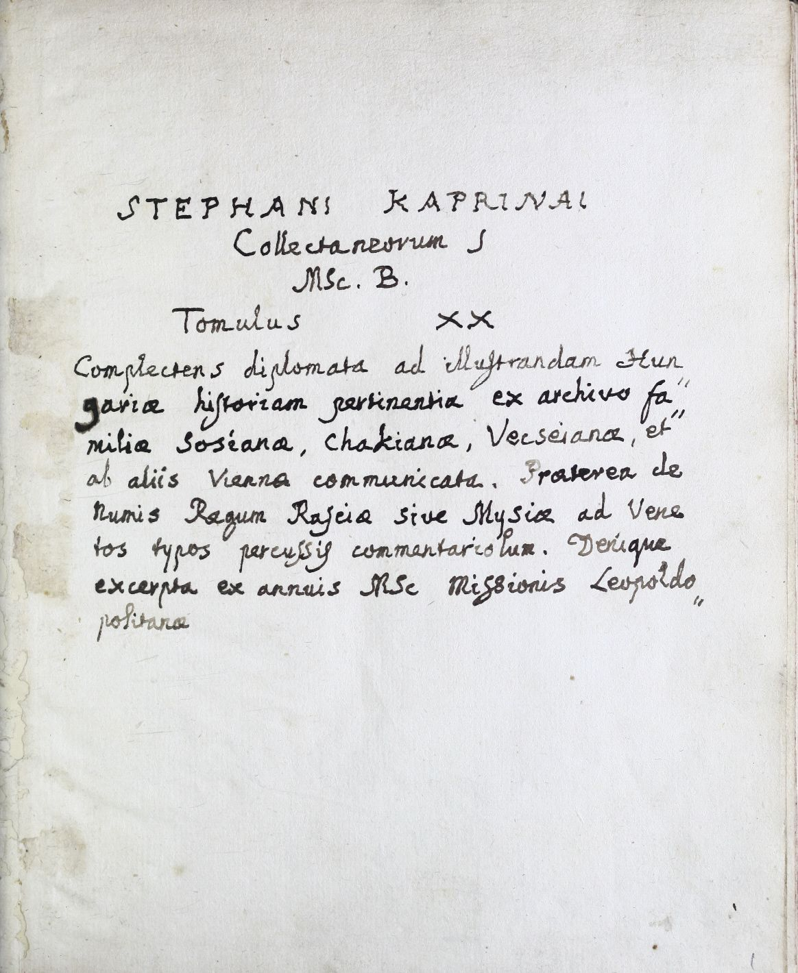 Literae Joannis de Hunyad regni Hungariae gubernatoris, quibus ... Francisco de Chák ac posteritatibus universis donat possessiones Vlazi et Regald, item praedia Mariamaz etc. in comitatu Byhoriensi