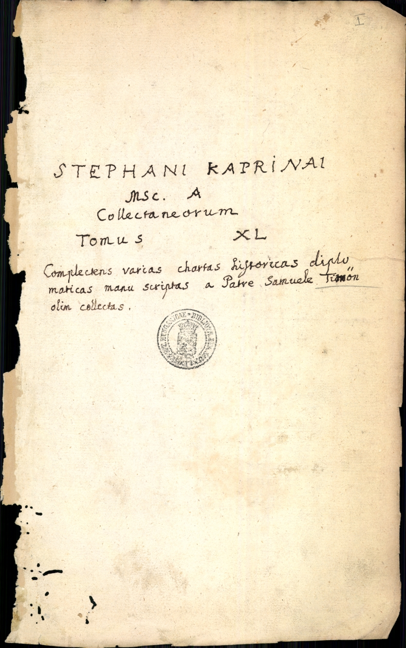 Descriptio coronationis Ferdinandi IV.