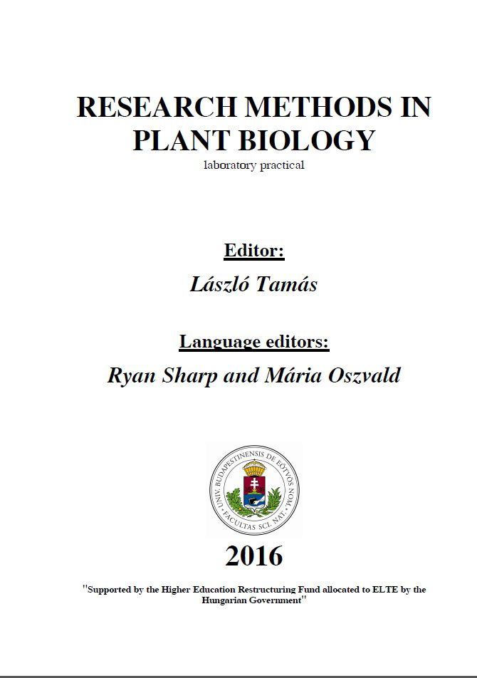 Research Methods in Plant Biology