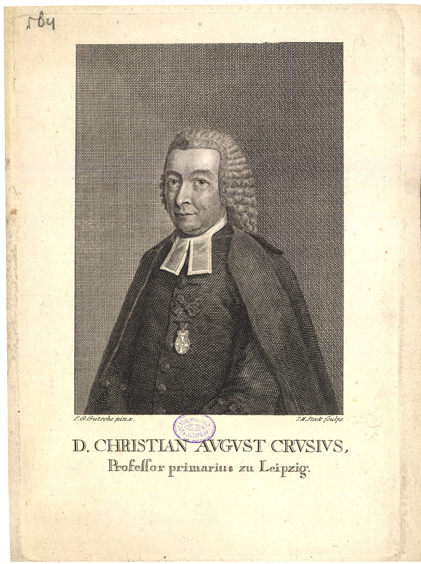 D. Christian August Crusius