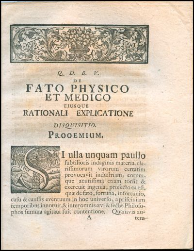 Dissertatio inauguralis philosophico-medica, de fato physico et medico eiusque rationali explicatione ...