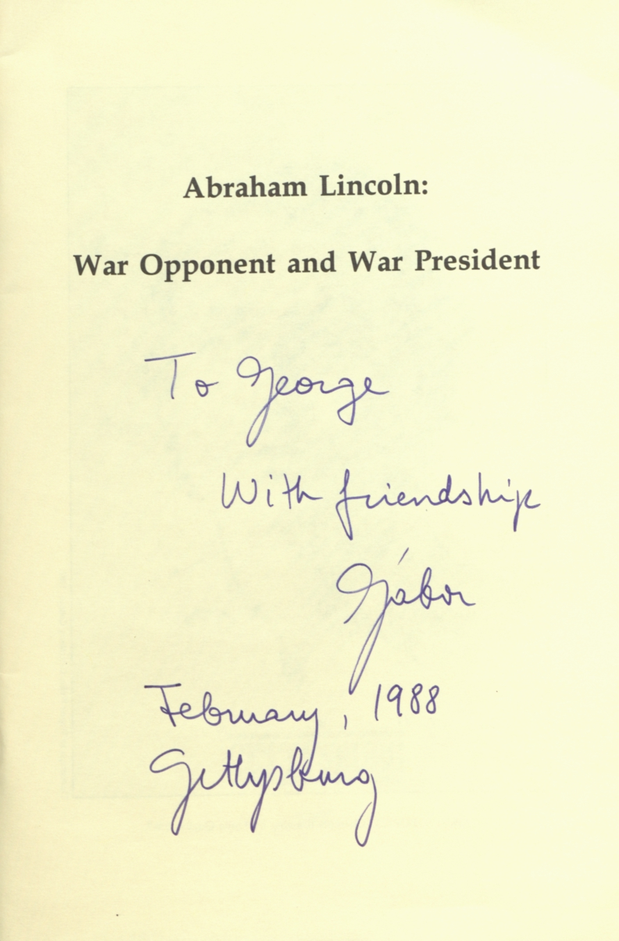Abraham Lincoln: war opponent and war president