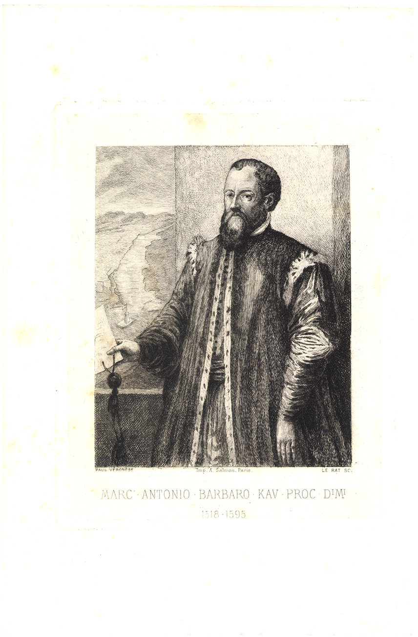 Marc Antonio Barbaro Kav Proc Dimi 1518-1595