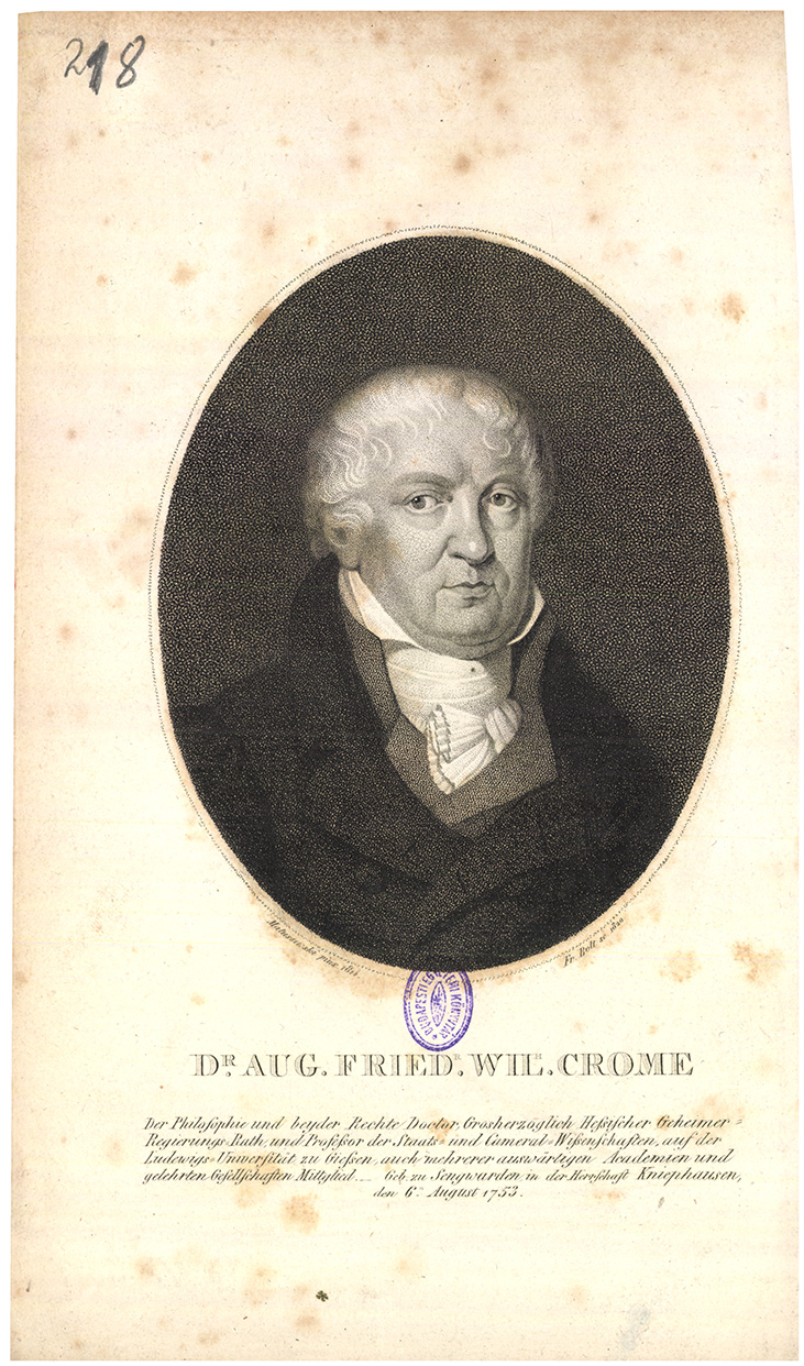 Dr. Aug. Friedr. Wil. Crome