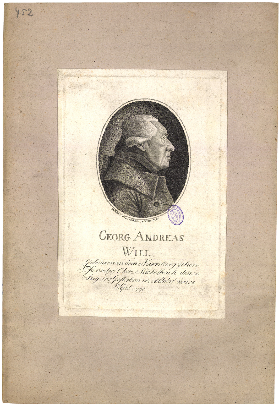 Georg Andreas Will